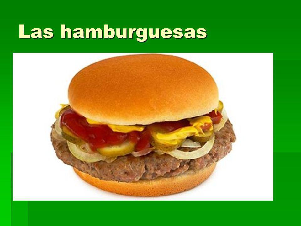 Las hamburguesas