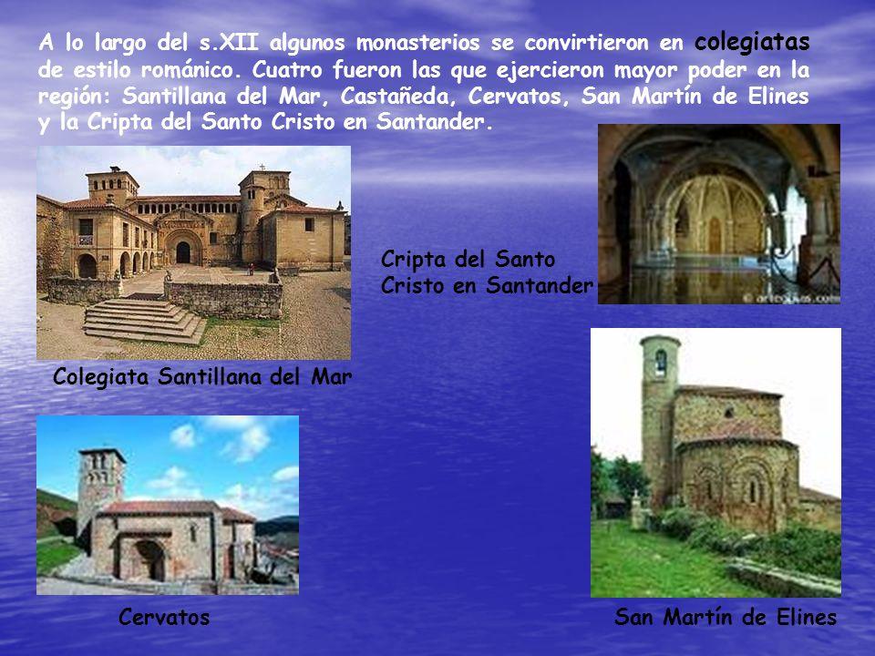 A lo largo del s.XII algunos monasterios se convirtieron en colegiatas de estilo románico. Cuatro fueron las que ejercieron mayor poder en la región: