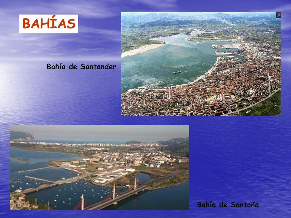 BAHÍAS Bahía de Santander Bahía de Santoña