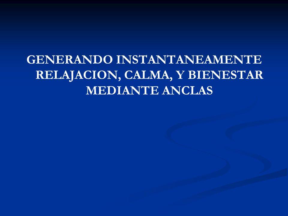 CIRCULO DE EXCELENCIA (Anclaje Psico-Geográfico)