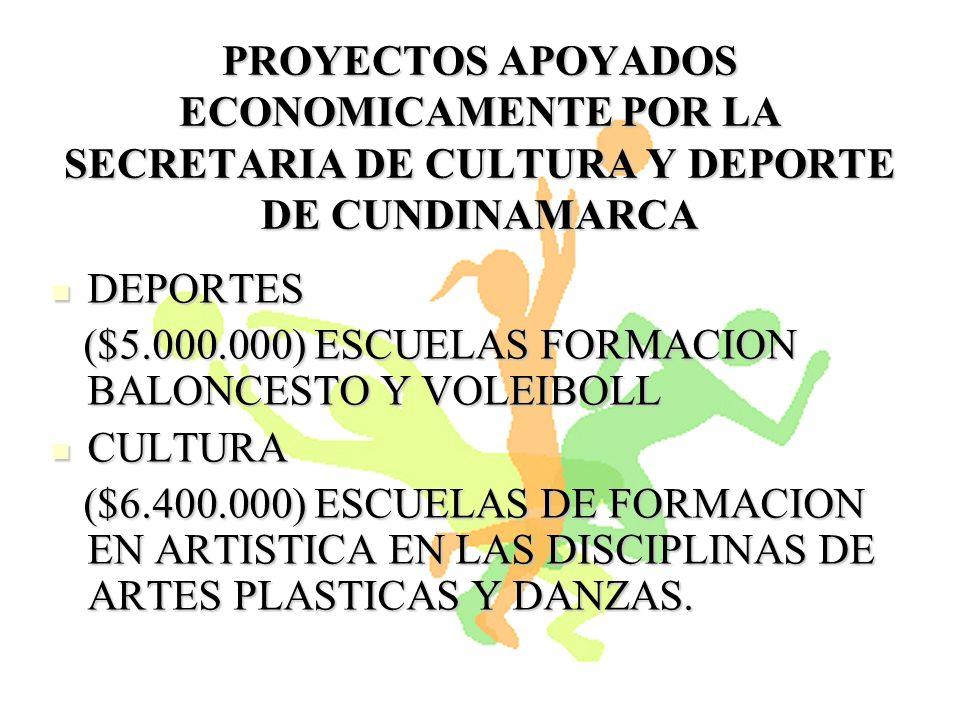 FESTIVAL DEPARTAMENTAL DE DANZAS FESTIVAL DEPARTAMENTAL DE DANZAS ($6.000.000) ($6.000.000) SALDO DE UN CONVENIO DEL AÑO 2007 EN CULTURA POR UN VALOR DE $3.400.000