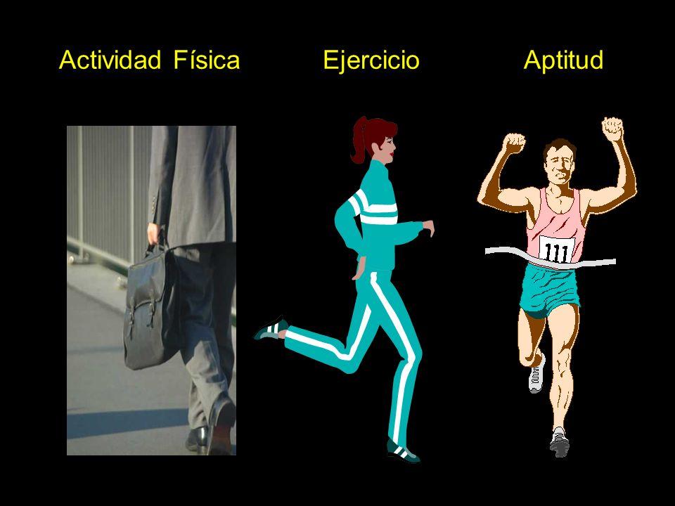 Actividad Física Ejercicio Aptitud