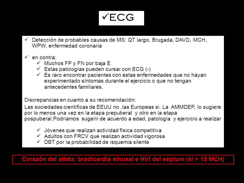 Estudios no invasivos ECG/Ergometría