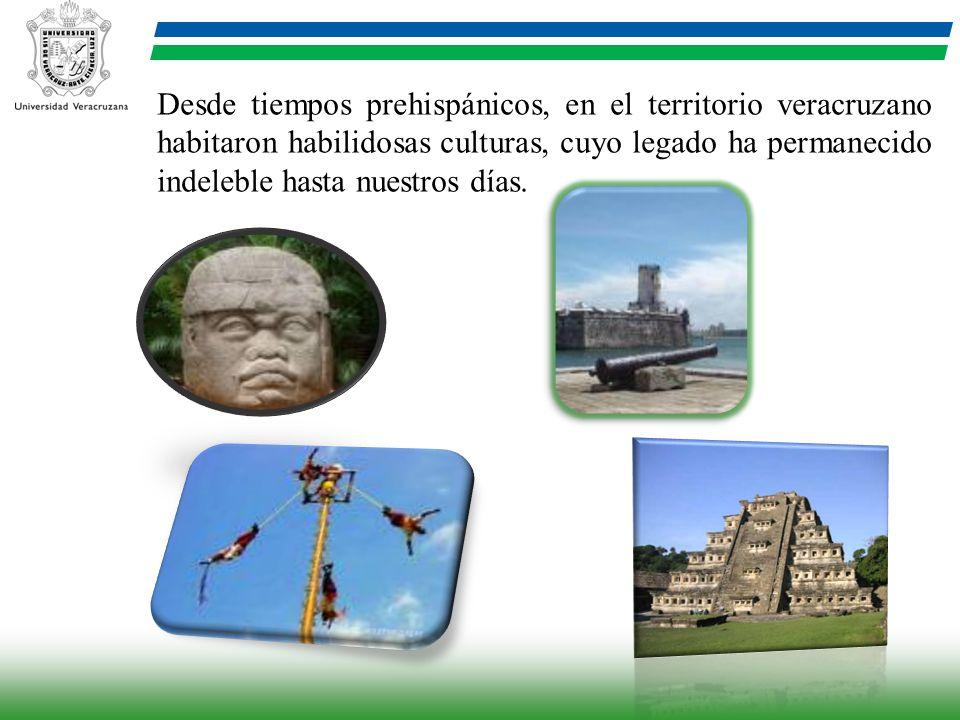 Desde tiempos prehispánicos, en el territorio veracruzano habitaron habilidosas culturas, cuyo legado ha permanecido indeleble hasta nuestros días.