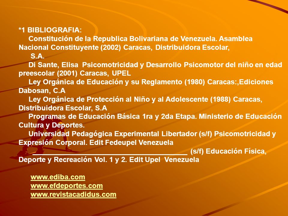 OBJETIVOS GENERALES, DESARROLLO DE LOS CONTENIDOS (2DA ETAPA) MARCO PEDAGOGICO BLOQUES DE CONTENIDO (CONSIDERACIONES) APTITUD FISICA DESTREZAS MOTORAS DEPORTE MEDIO PARA EDUCAR CAPACIDADES FISICAS JUEGOS MOTRICES PREAMBULO RESPETO NORMAS SOCIALES MOTIVACION DIVERTIRSE EXPRESION Y COMUNICACIÓN CORPORAL CONTINUAR MOVIMIENTO Y RITMO UTILIZAR RECURSOS EXPRESIVOS CUERPO VIDA AL AIRE LIBRE ACTITUDES POSITIVAS SIMULACROS PRIMEROS AUXILIOS DERECHO A LA RECREACION
