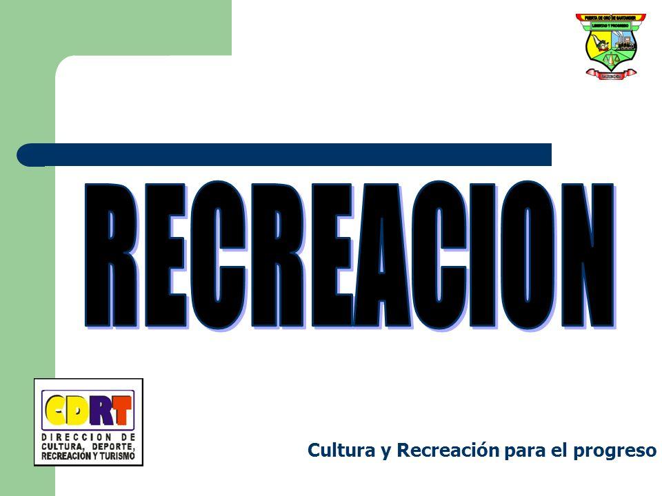 Cultura y Recreación para el progreso