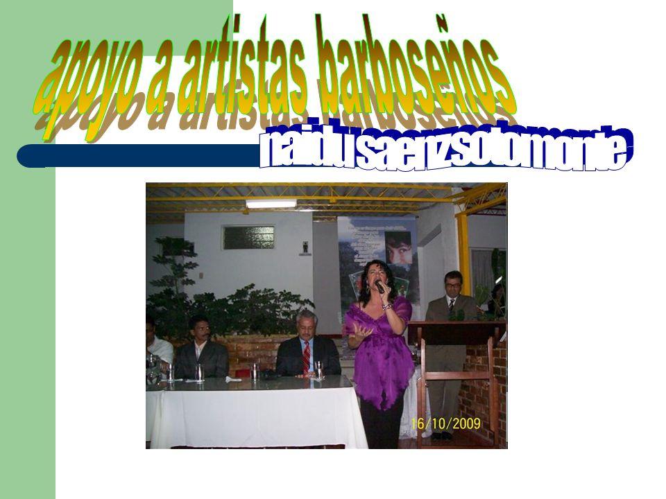 Total medallas hasta 2008/0 Total medallas 2009/27 Cultura y Deporte para el progreso 1er festival de natación Alcaldía de Barbosa Inter colegiados Bucaramanga