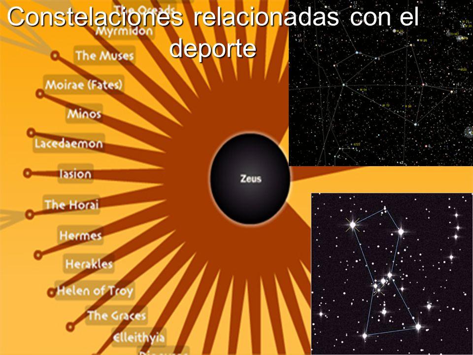 Constelaciones relacionadas con el deporte