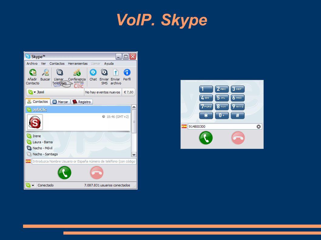 VoIP. Skype