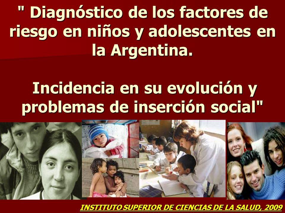 Datos UNICEF Argentina En 2005 se pudo constatar en niños y adolescentes afectados, que el 80% ya tiene desarrollado el SIDA y que el 52% son huérfanos por VIH/Sida (UNICEF, estudio exploratorio en el Gran Buenos Aires).