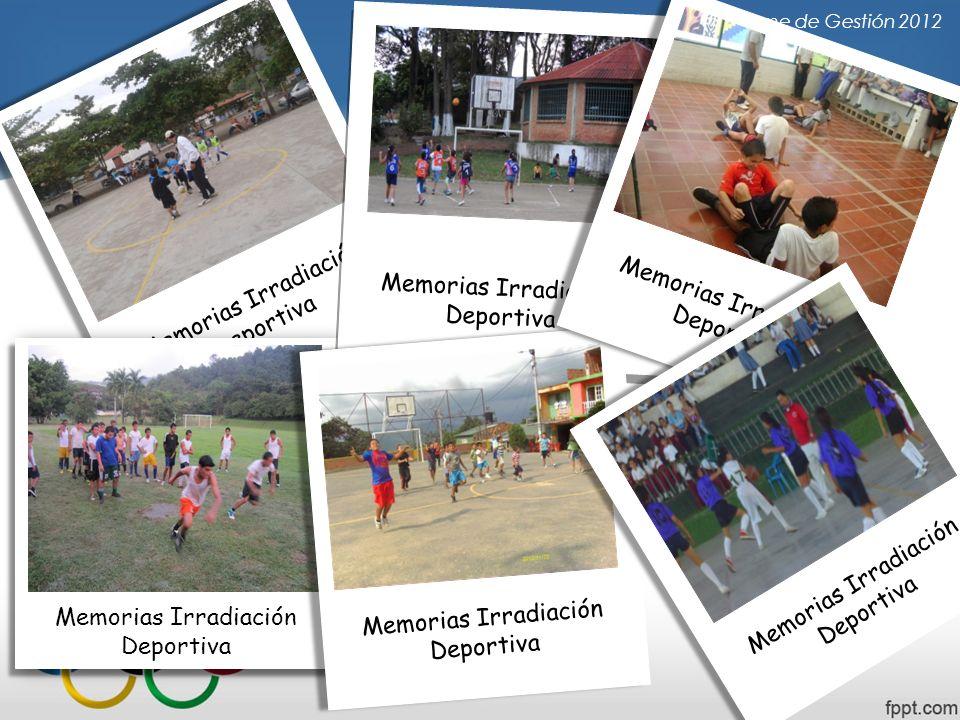 Informe de Gestión 2012 Memorias Irradiación Deportiva