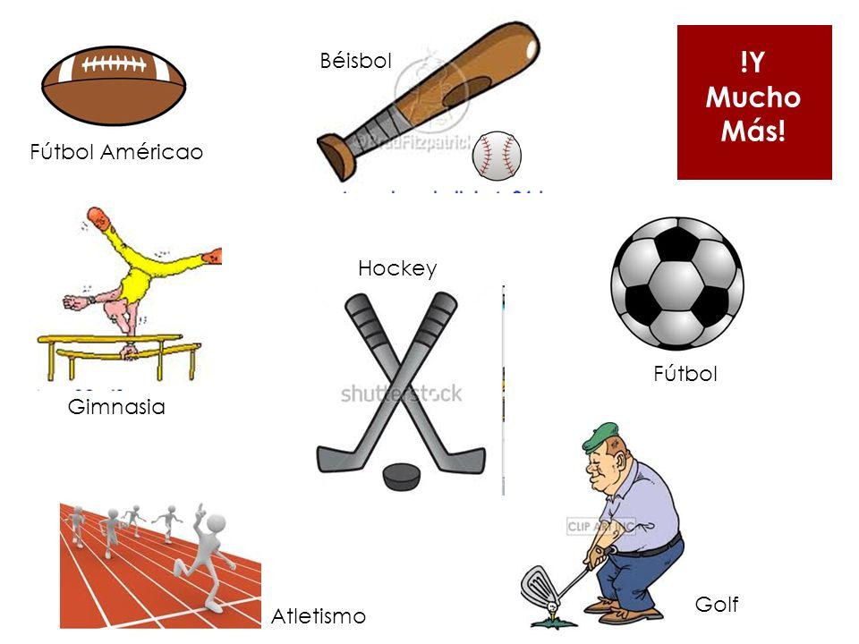 Fútbol Américao Béisbol Fútbol Hockey Gimnasia Atletismo Golf !Y Mucho Más!
