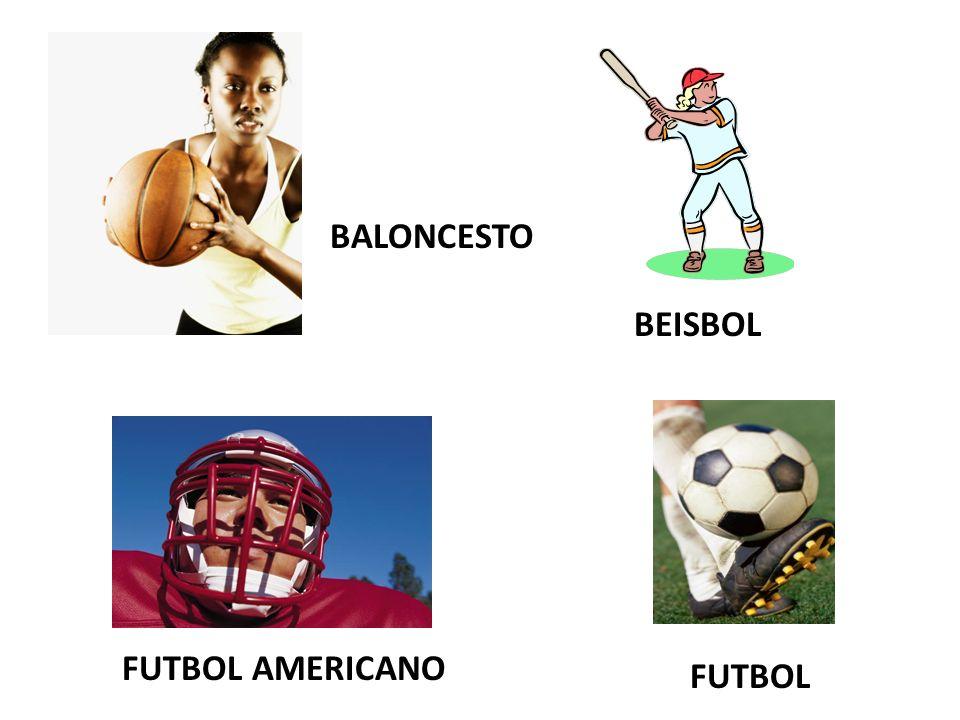 BALONCESTO BEISBOL FUTBOL AMERICANO FUTBOL