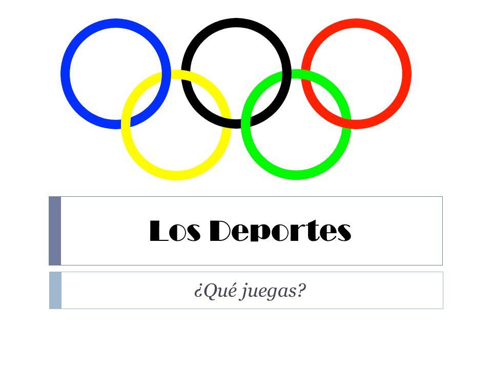¿Qué son los deportes en español.