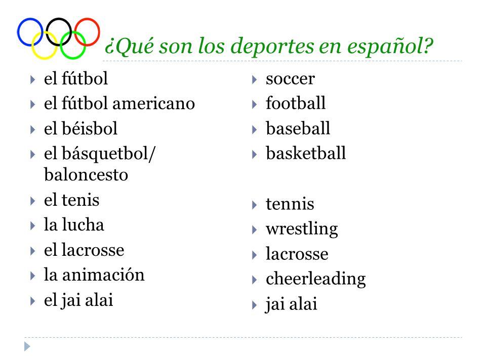 Algunas preguntas para ti… 1.¿Juegas tú un deporte.