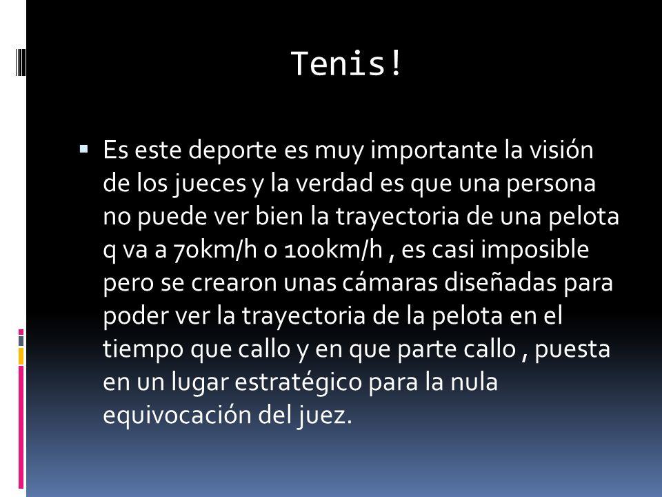 Tenis.