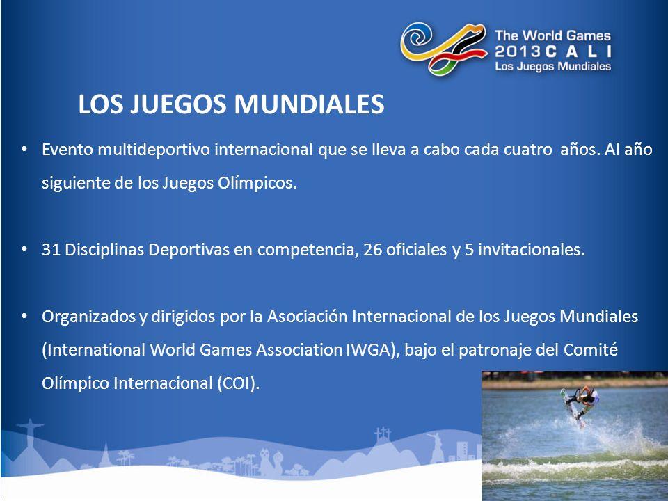 Evento multideportivo internacional que se lleva a cabo cada cuatro años.