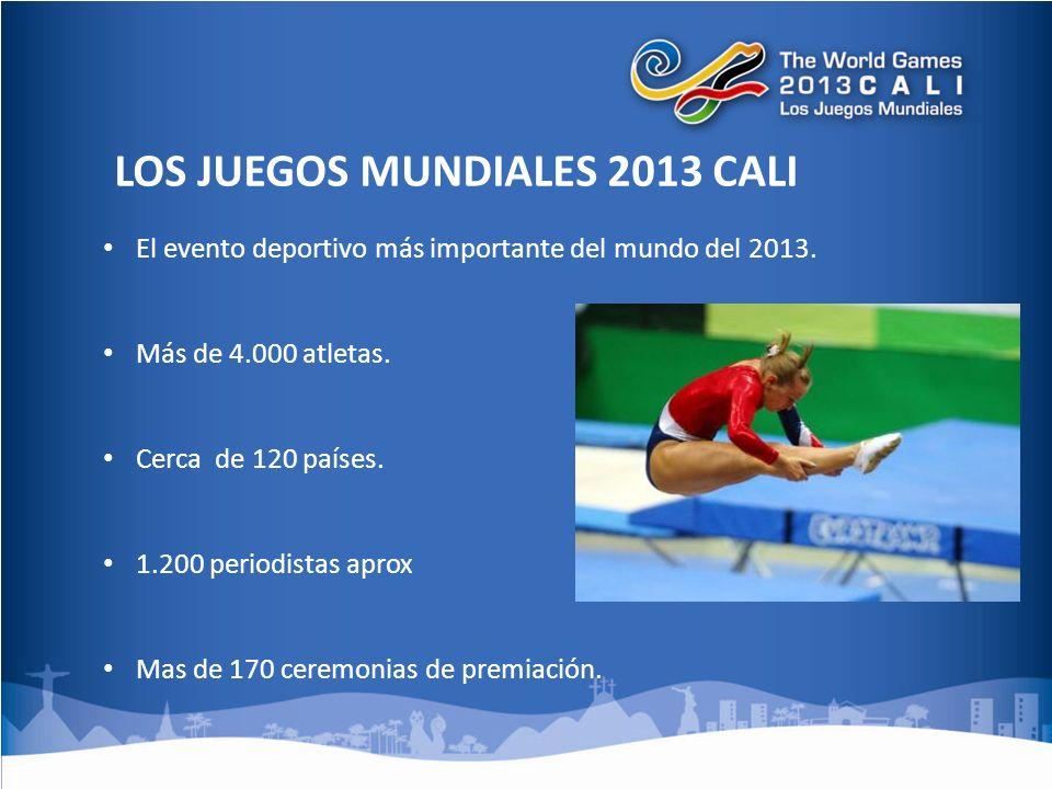 El evento deportivo más importante del mundo del 2013.