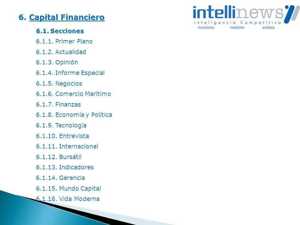 6. Capital Financiero 6.1. Secciones 6.1.1. Primer Plano 6.1.2. Actualidad 6.1.3. Opinión 6.1.4. Informe Especial 6.1.5. Negocios 6.1.6. Comercio Marí