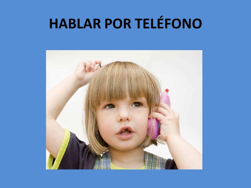 1.Hablar por teléfono 2. Alquilar un DVD 3. Escuchar música 4.