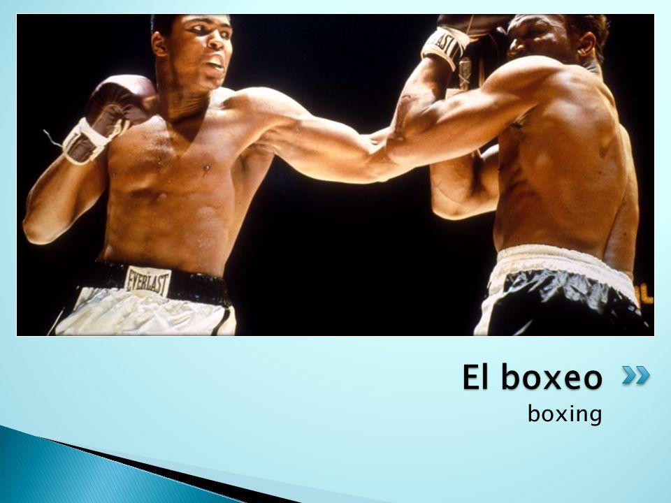 boxing El boxeo