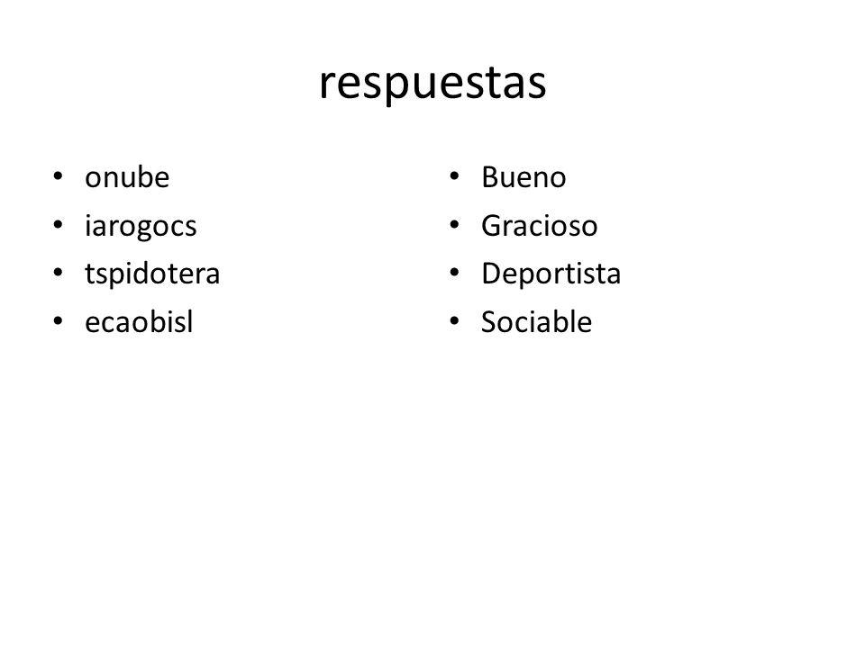 Objetivo Despues de tomar notas, yo puedo deletrear el vocabulario correctamente en español y usarlo en frases.