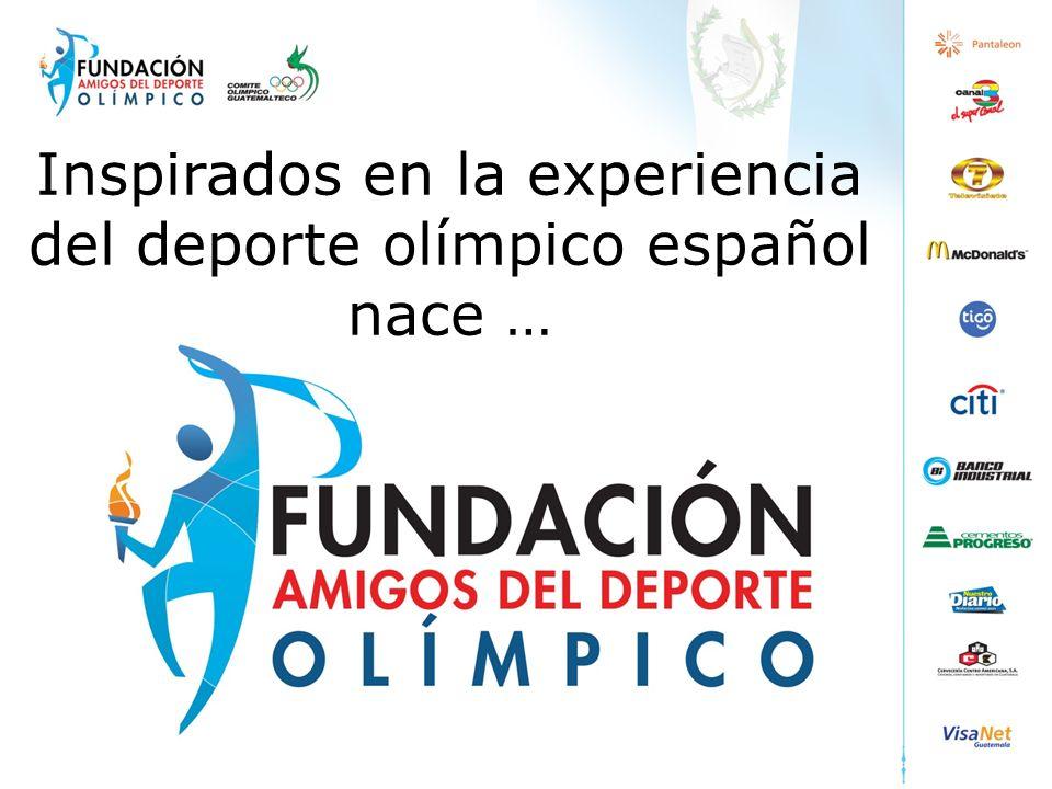 Inspirados en la experiencia del deporte olímpico español nace …