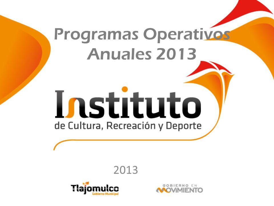 Programas Operativos Anuales 2013 2013