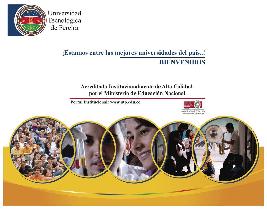 Informe de Autoevaluación con Fines de Renovación de la Acreditación CIENCIAS DEL DEPORTE Y LA RECREACIÓN PEREIRA, Marzo de 2012