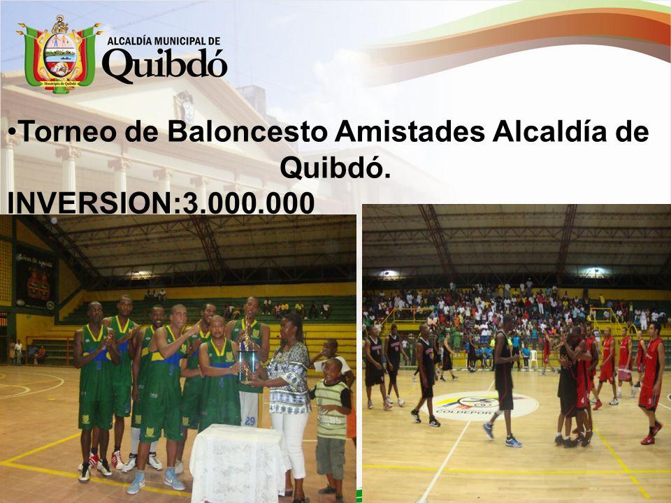 Act. Lúdica-Recreativa Ancianato de Quibdó INVERSION: 3000000$