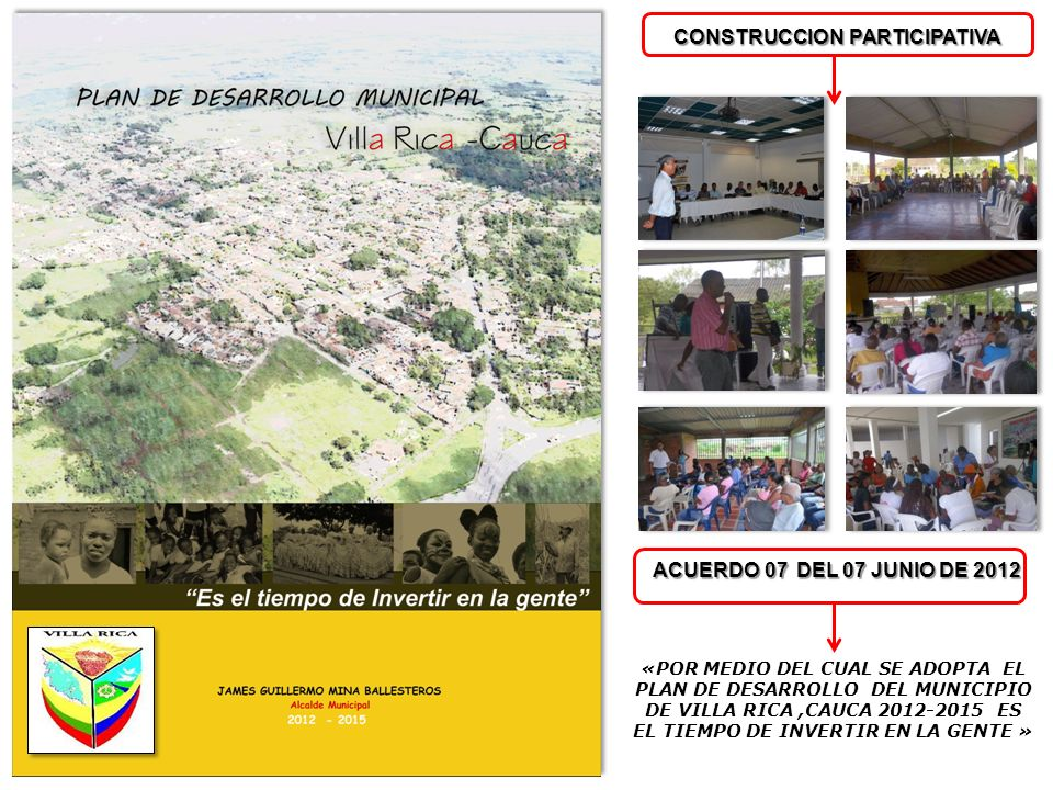 SECRETARÍA DE PLANEACION INFRAESTRUCTURA Y VIVIENDA Secretaria: Arq. XIOMARA DIAZ CASTRILLON