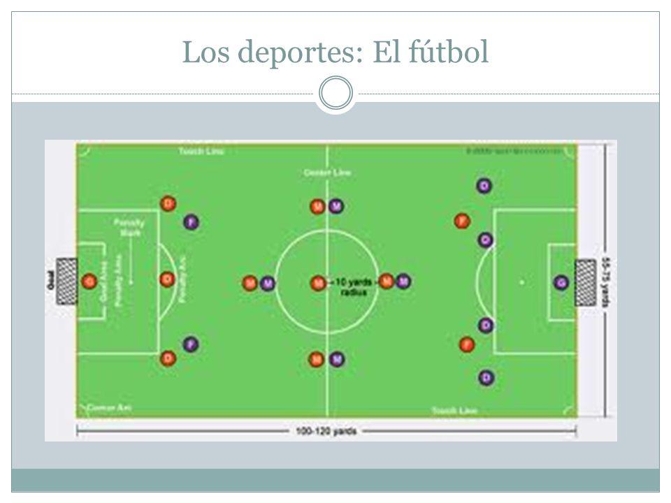 Los deportes: El fútbol