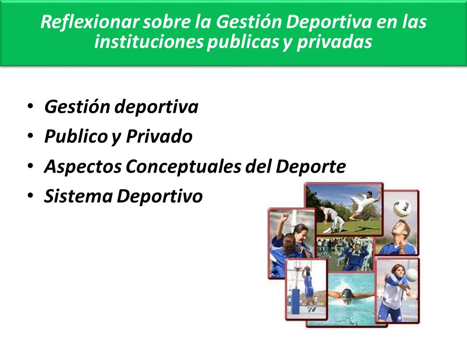 SISTEMA DEPORTIVO SISTEMA DEPORTIVO SISTEMA DEMOGRAFICO ENTIDADES ACTIVIDADES EQUIPAMIENTOS PRACTICANTES SISTEMA URBANISTICO SISTEMA SOCIO ECONOMICO SISTEMA POLITICO SISTEMA CULTURAL SISTEMA DEPORTIVO SISTEMA GEOGRAFICO EMPRESAS DEPORTIVAS MEDIOS DE COMUNICACION