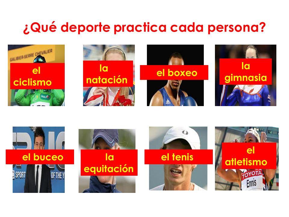 Hay 38 deportes en los Juegos Olímpicos ¿pero cuáles son? la cama elástica el balonmano el hockey el judo el pentatlón moderno el remo la vela el tiro