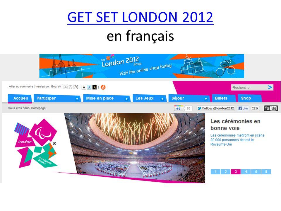 GET SET LONDON 2012