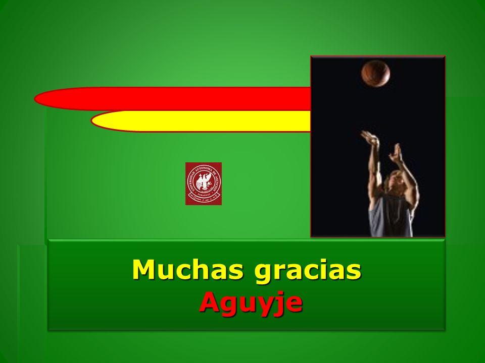 Muchas gracias Aguyje Aguyje Muchas gracias Aguyje Aguyje