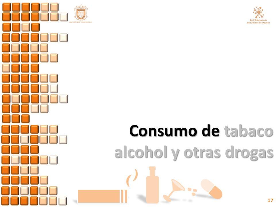 Consumo de tabaco alcohol y otras drogas 17