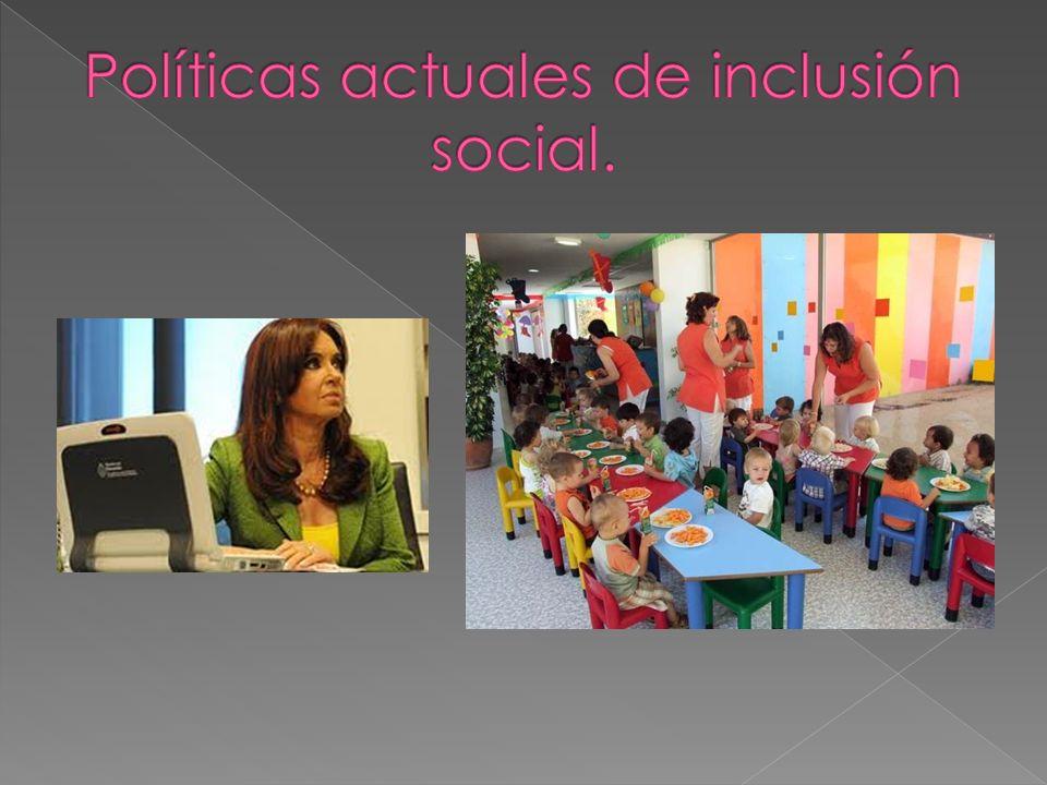 Asignación universal por hijo.Programa integral para la igualdad educativa.
