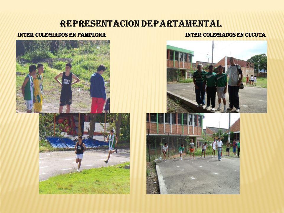 INTER-COLEGIADOS EN PAMPLONAINTER-COLEGIADOS EN CUCUTA REPRESENTACION DEPARTAMENTAL
