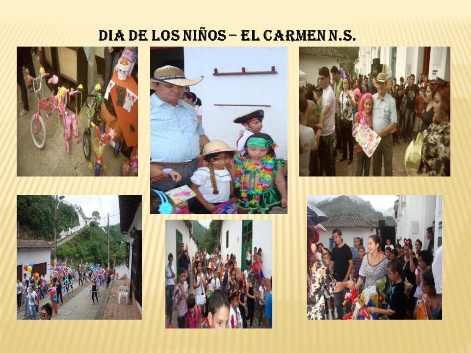 DIA DE LOS NIÑOS – EL CARMEN N.S.