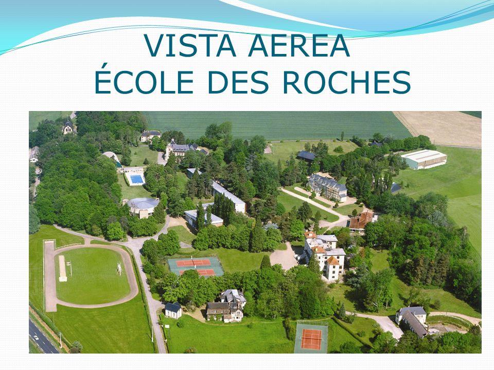 VISTA AEREA ÉCOLE DES ROCHES