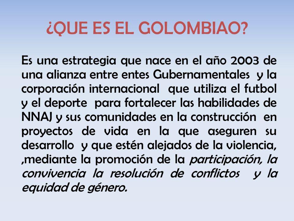 ¿QUE ES EL GOLOMBIAO.