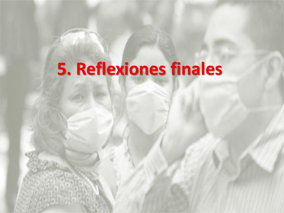 5. Reflexiones finales