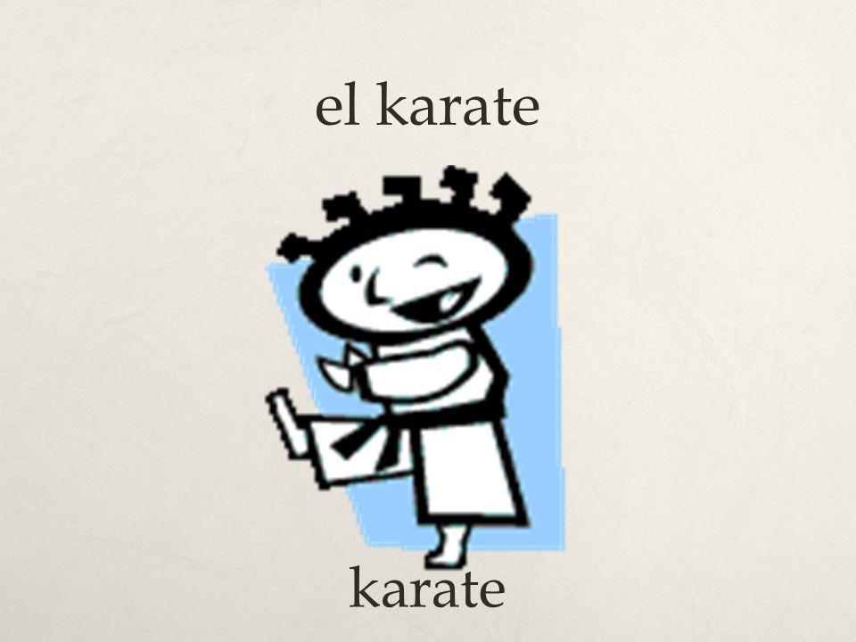 el karate karate