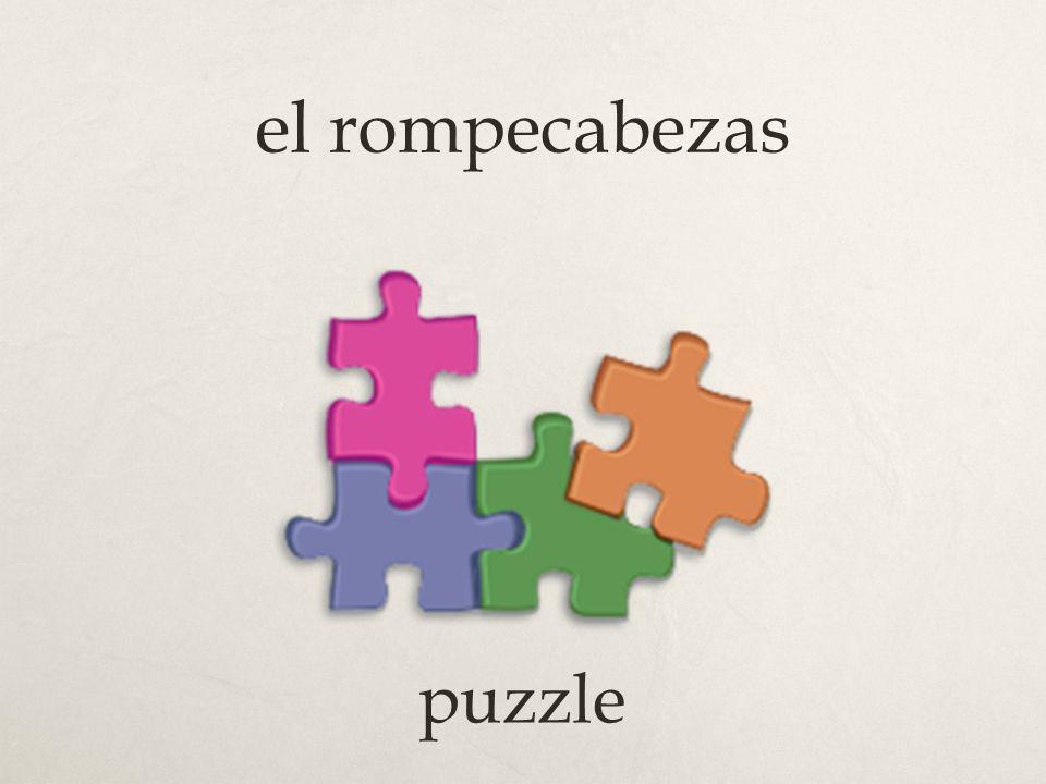 el rompecabezas puzzle