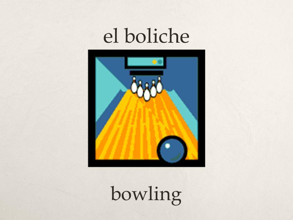 el boliche bowling