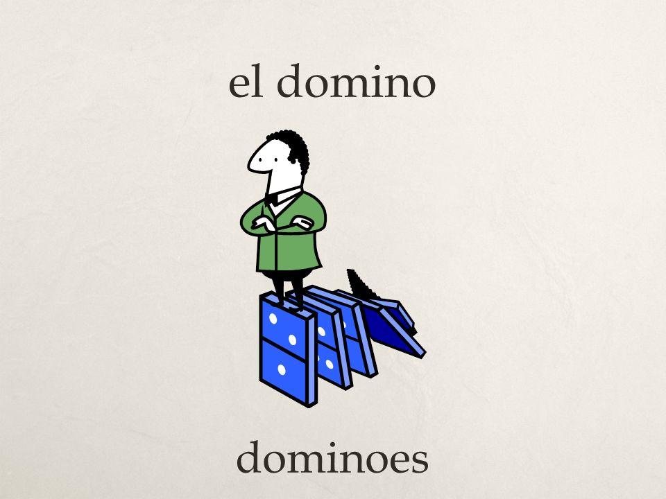 el domino dominoes