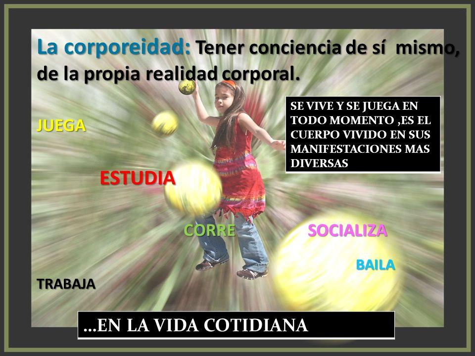 DESARROLLAR LOS PATRONES BASICOS DE MOVIMIENTO ORIENTAR LA CORPOREIDAD HACIA EL MANEJO DE LA EXPRESION JUGAR COMO PROYECCION DE VIDA