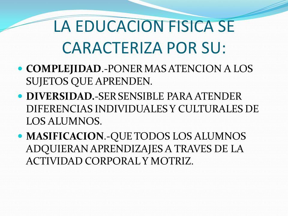La educación física, dentro de la educación básica, contribuye al desarrollo integral de los educandos por medio de la corporeidad.