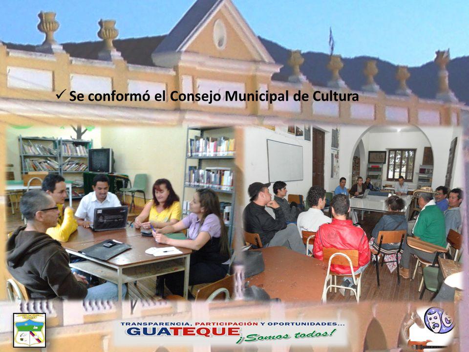 Se conformó el Consejo Municipal de Cultura